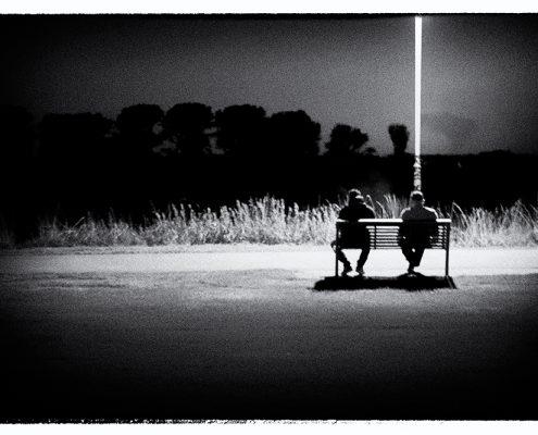 scotty_4738, scotty, aliens, beam, leverksuen, rhein, nacht